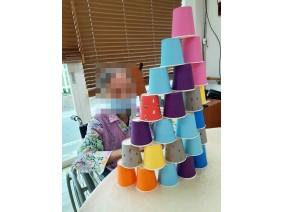 컵쌓기, 칠교, 퍼즐 활…